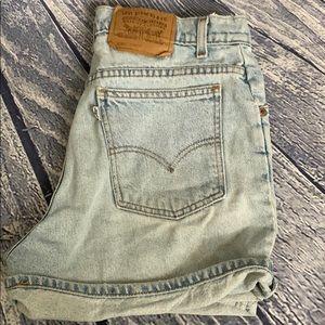 RARE Levi's White Tag Vintage Light Denim Shorts 8